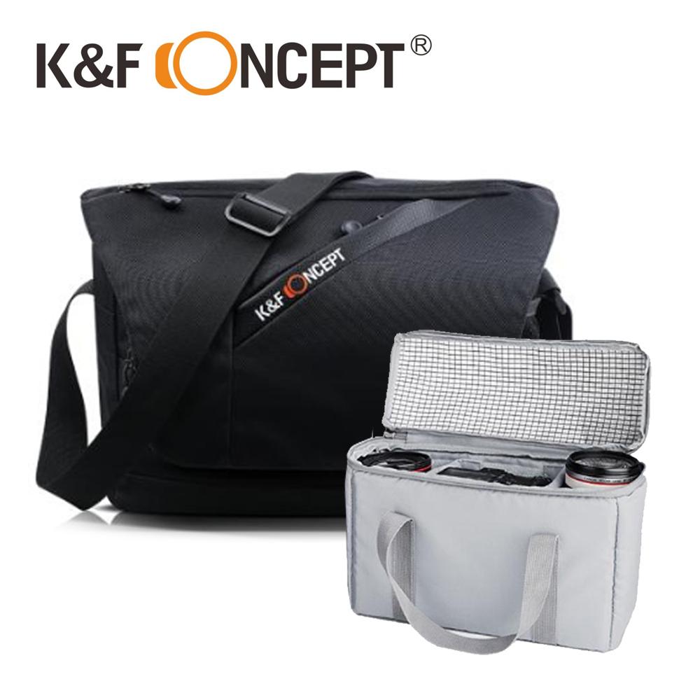 K&F Concept 自由者 專業攝影單眼相機斜背包 相機包 斜側包 (KF13.091)