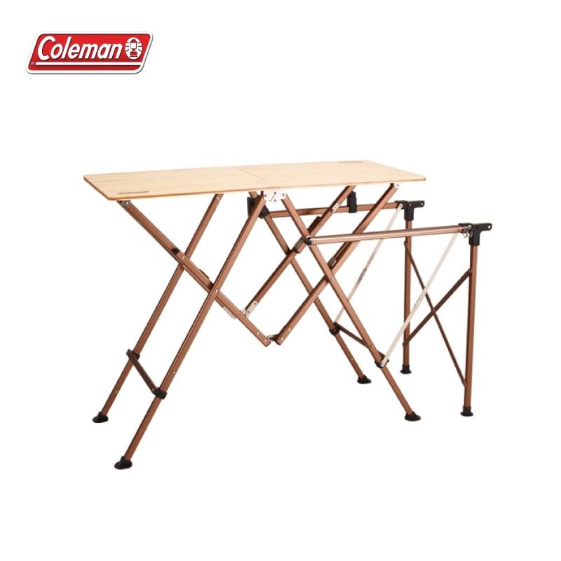 Coleman 舒適達人廚房桌 行動廚房 雙口爐 CM-0520J