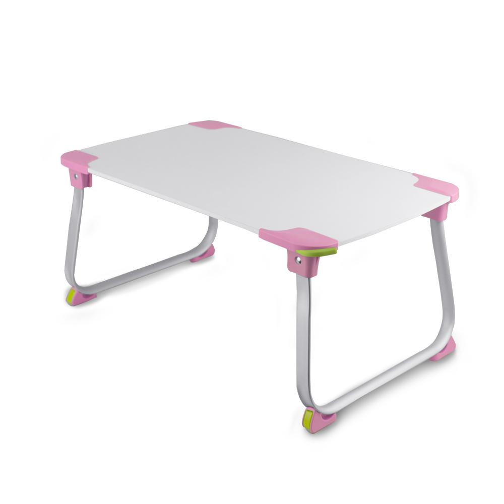 超輕多功能折疊NB電腦桌(LY-NB18)-粉紅