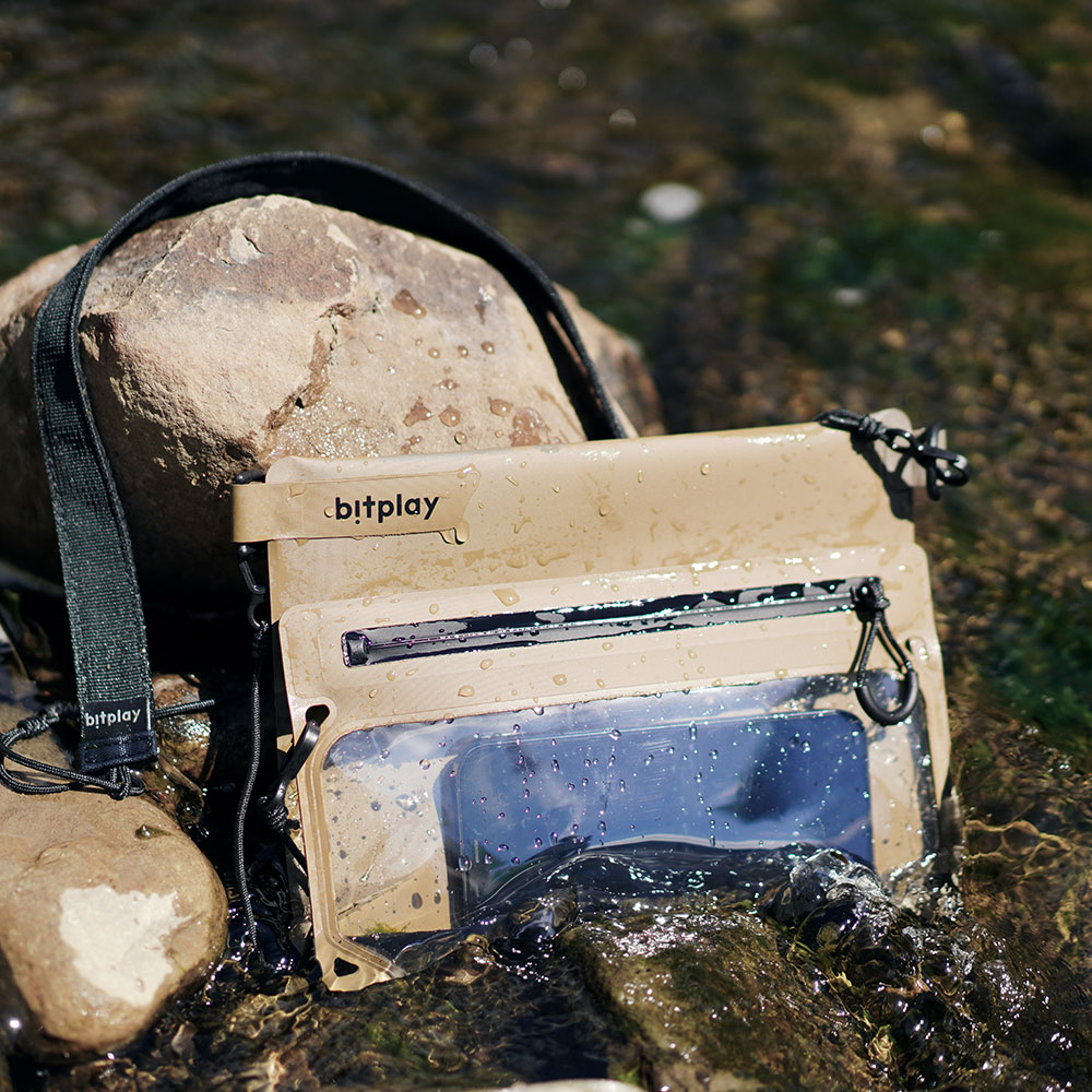 bitplay AquaSeal 全境防水瞬扣包-沙漠黃『新色上市』