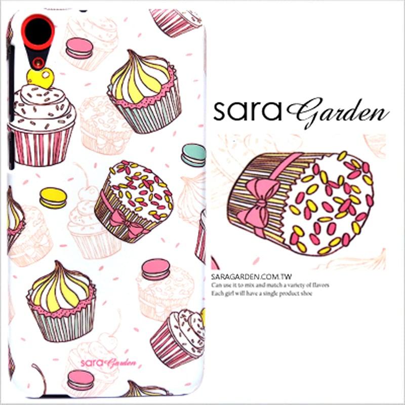 【Sara Garden】客製化 手機殼 Samsung 三星 Note8 馬卡龍 杯子 蛋糕 甜點 手工 保護殼 硬殼