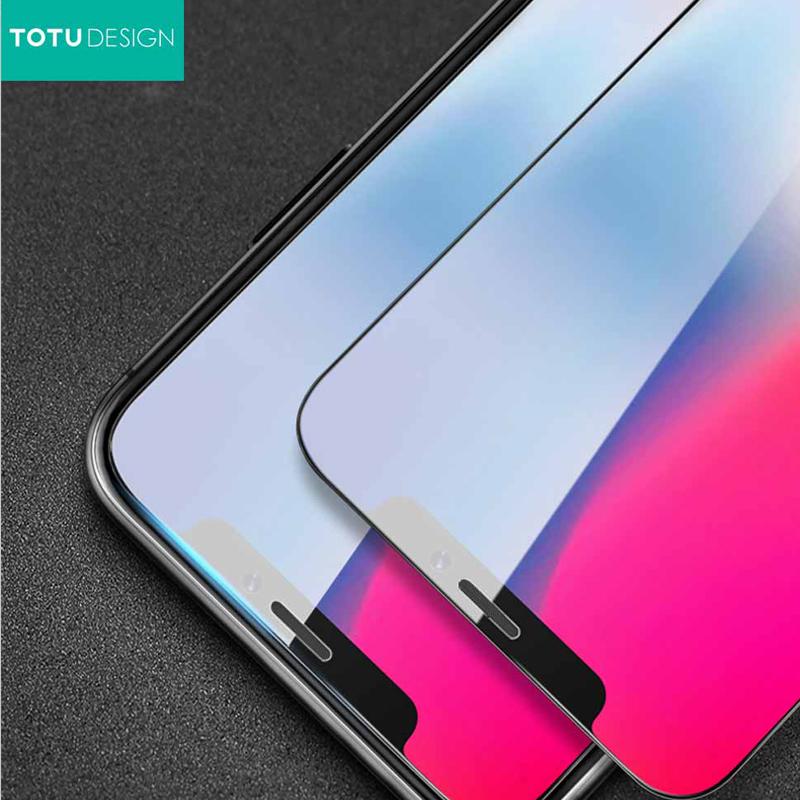 【TOTU台灣官方】犀牛家族 iPhoneX iX 鋼化膜 保貼 鋼化貼 贈定位器