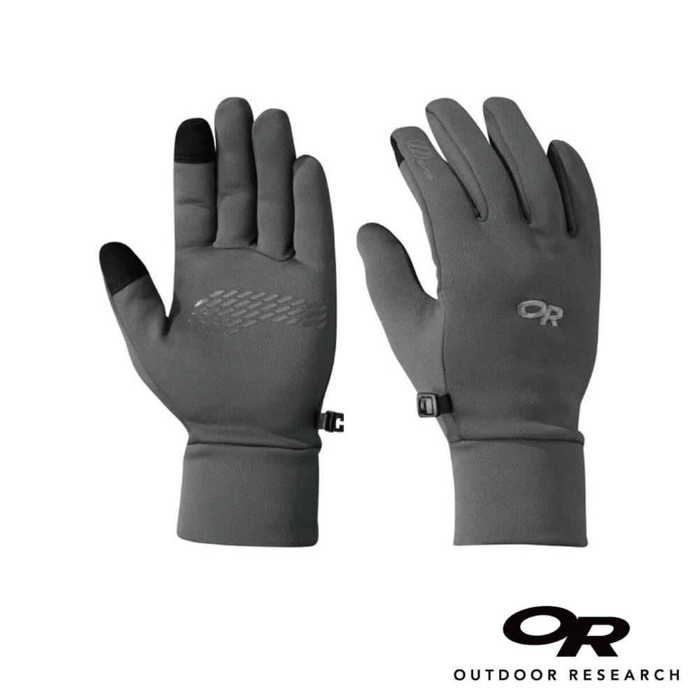 【美國Outdoor Research】碳灰L-男款戶外多用途快乾保暖觸控手套