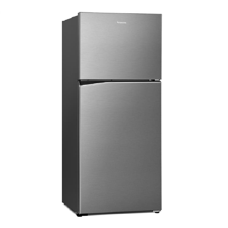 Panasonic 422L無邊框鋼板變頻雙門電冰箱 晶漾銀 NR-B421TV-S【贈基本安裝】