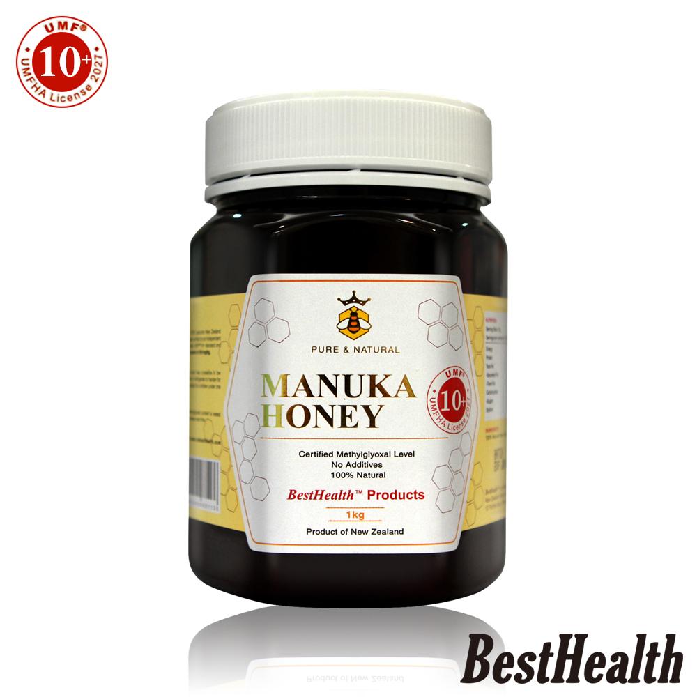 【Best Health】紐西蘭麥蘆卡蜂蜜活性UMF 10+(1000g)