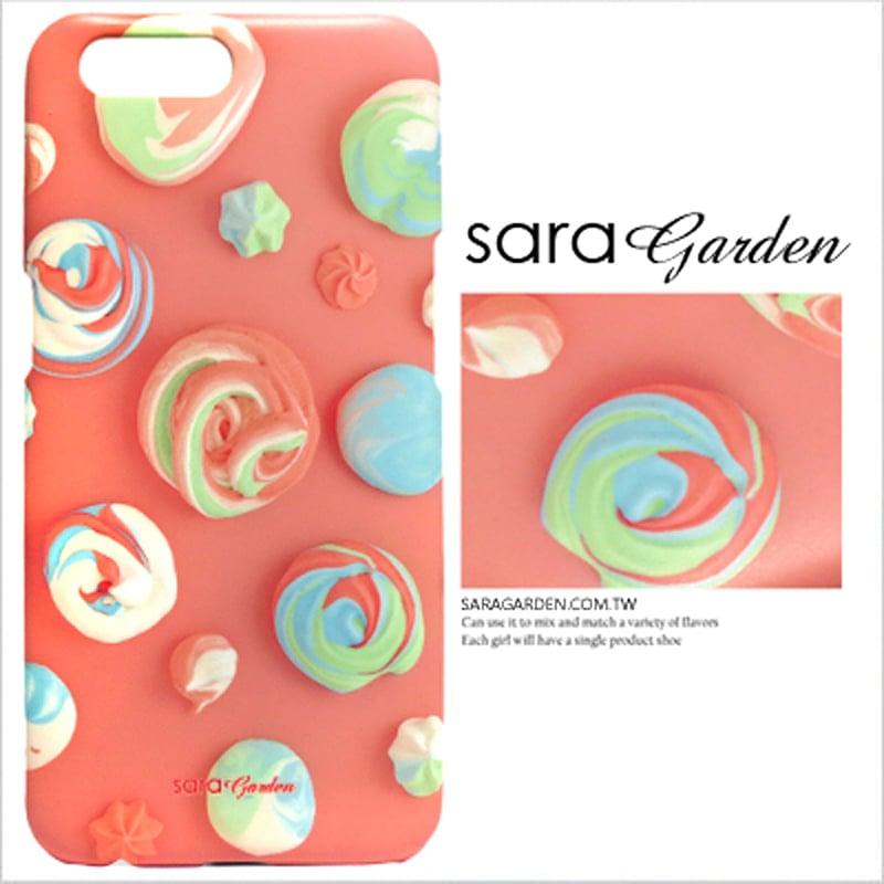 【Sara Garden】客製化 手機殼 OPPO R11 Plus r11+ 獨角獸彩虹奶油 曲線 手工 保護殼 硬殼