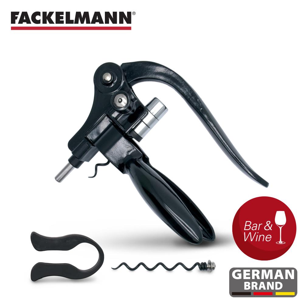 【德國Fackelmann】黑金系列特級紅酒開瓶器組