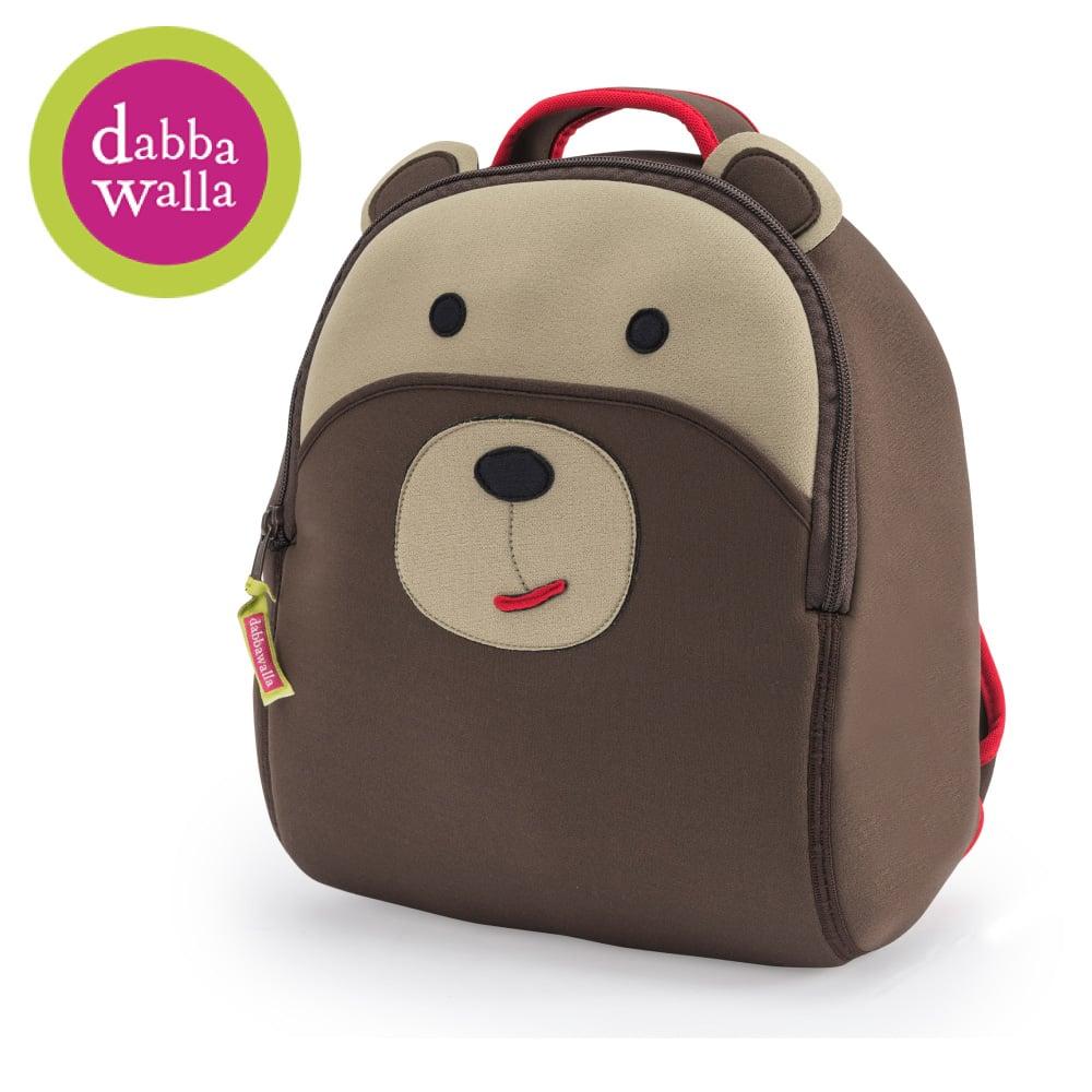 美國Dabbawalla瓦拉包 -棕熊兒童後背包