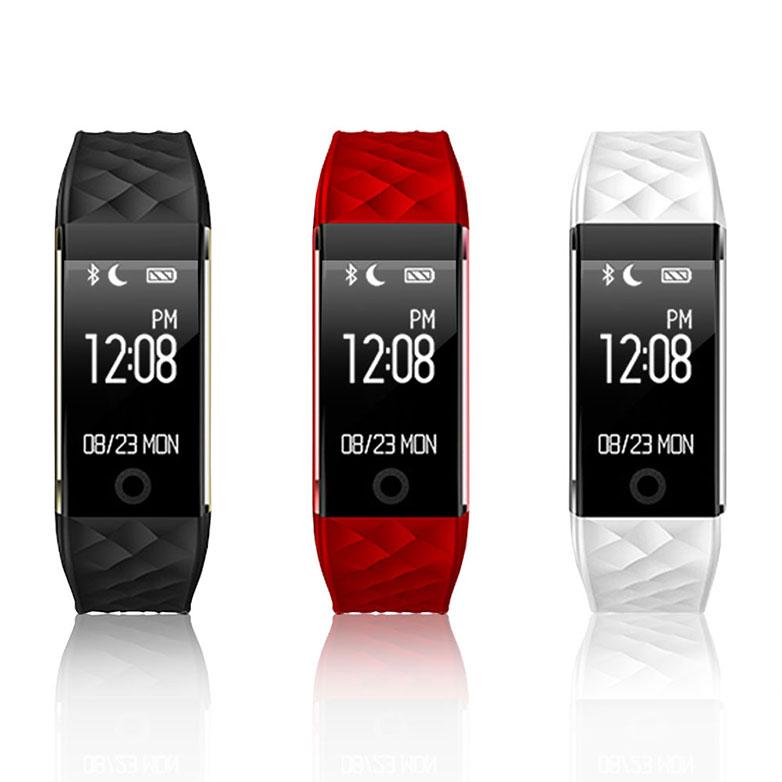 【u-ta】S2 -白色(OLED螢幕 可偵測心律 支援LINE FB 繁體中文顯示 觸控智慧手環 )