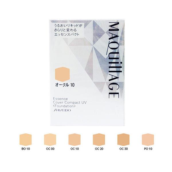 SHISEIDO資生堂 心機 長效精華粉霜UV(蕊) PO10 12g