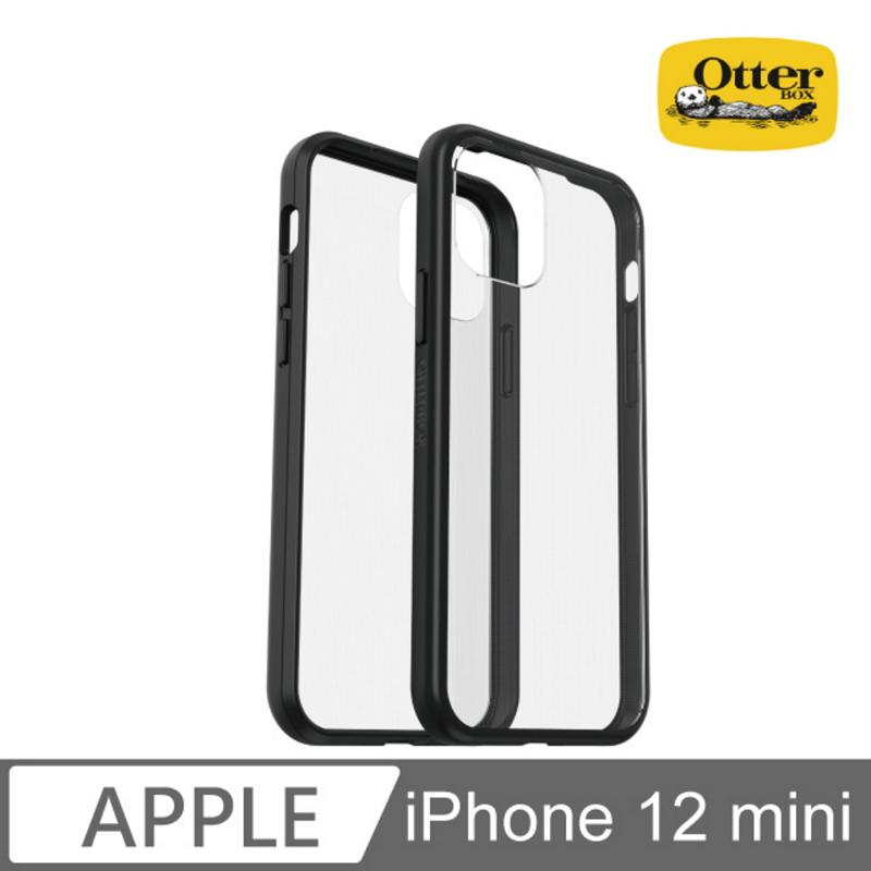 Otter Box 輕透防摔殼 iPhone 12 mini (5.4) 黑/透