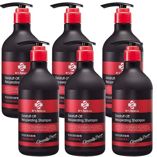 《台塑生醫》Dr's Formula控油抗屑洗髮精(580g*6入)