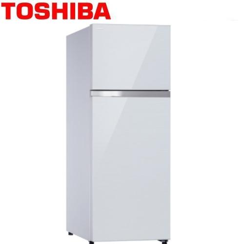 【TOSHIBA東芝】409公升雙門變頻玻璃鏡面冰箱 GR-AG46TDZ(ZW)