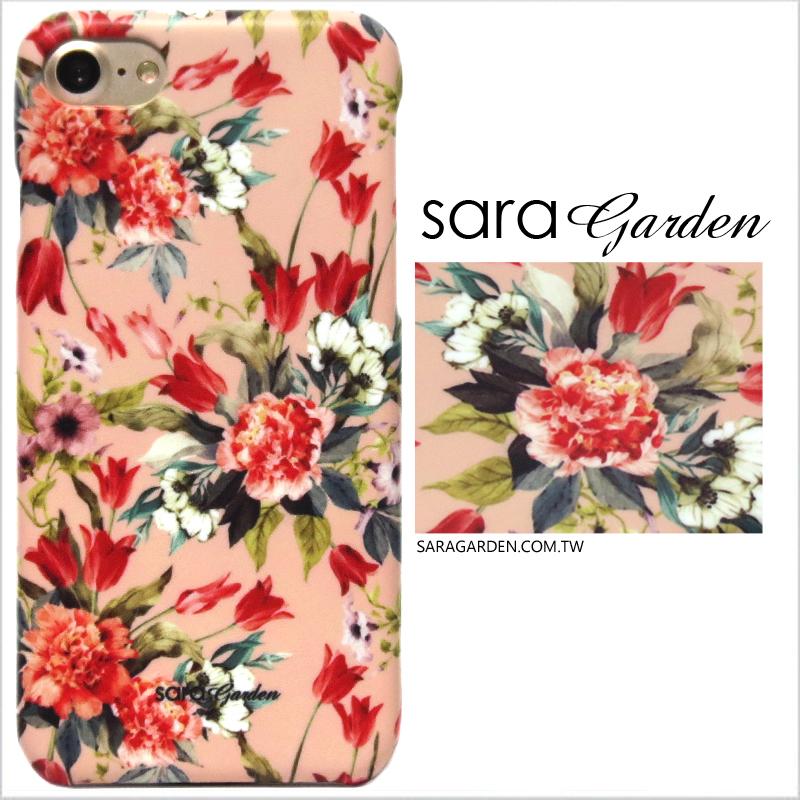 【Sara Garden】客製化 手機殼 SONY XA2 Ultra 玫瑰碎花 手工 保護殼 硬殼