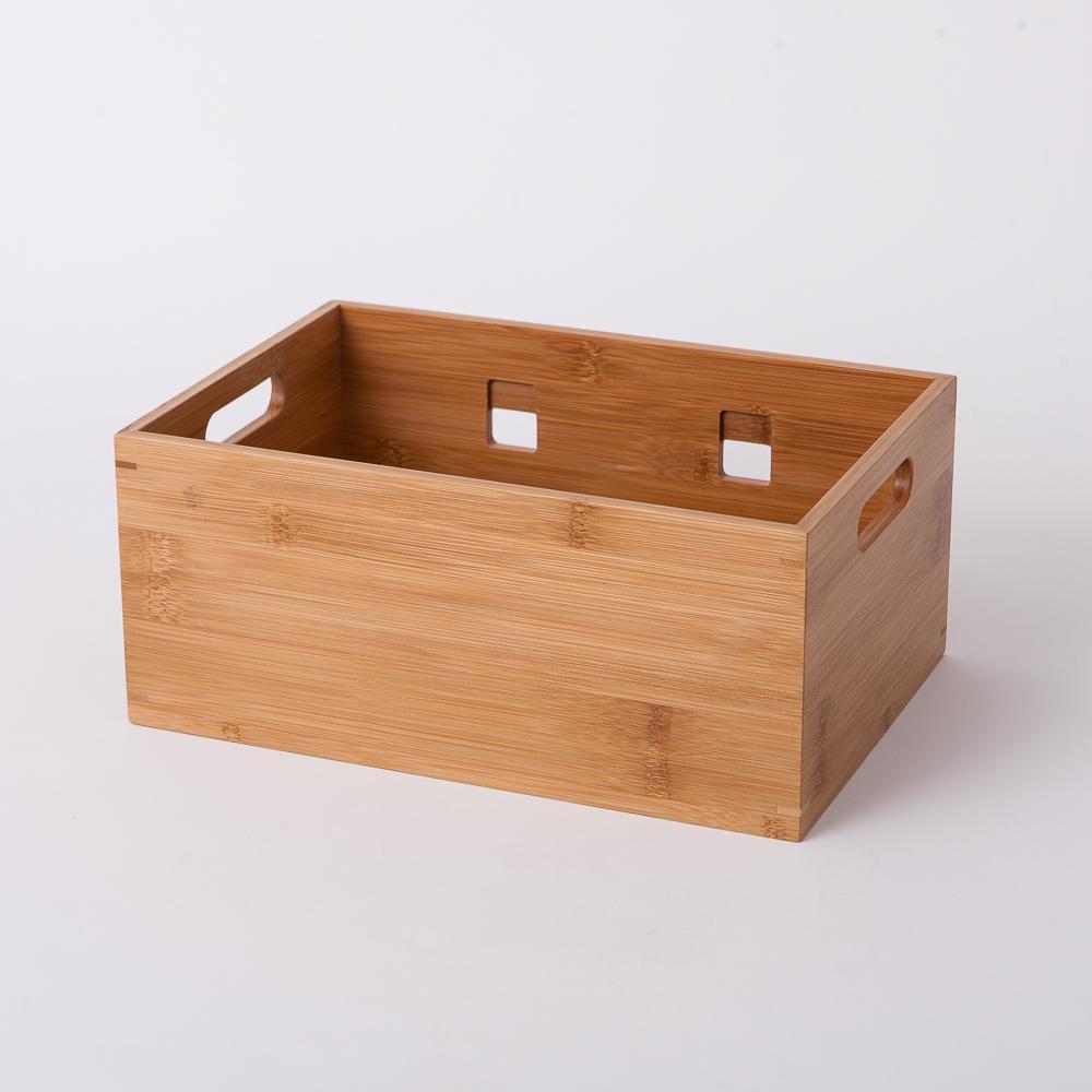 竹意壁掛型萬用收納盒(大)-生活工場