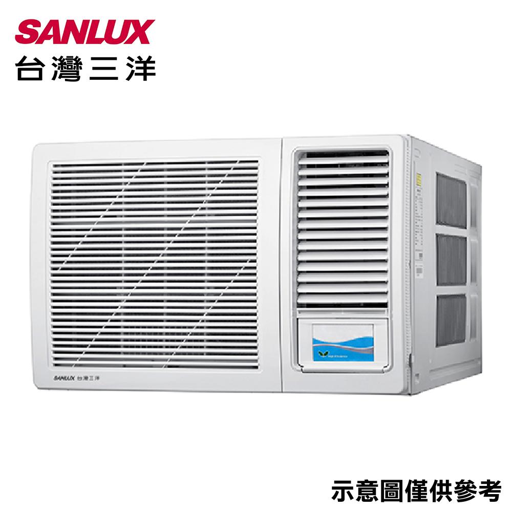 【SANLUX三洋】10-12坪窗型定頻右吹冷氣SA-R72G