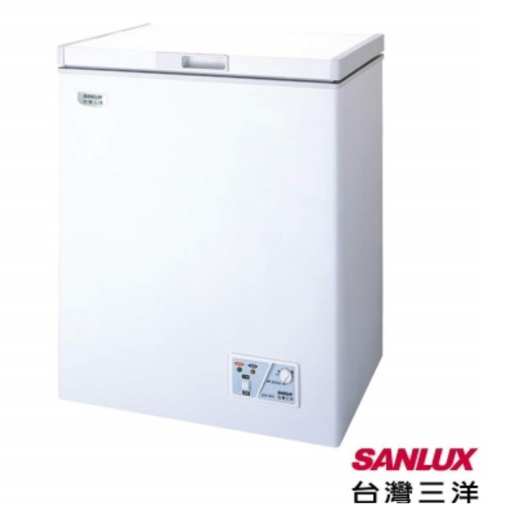 【台灣三洋SANLUX】141公升環保冷凍櫃SCF-141T