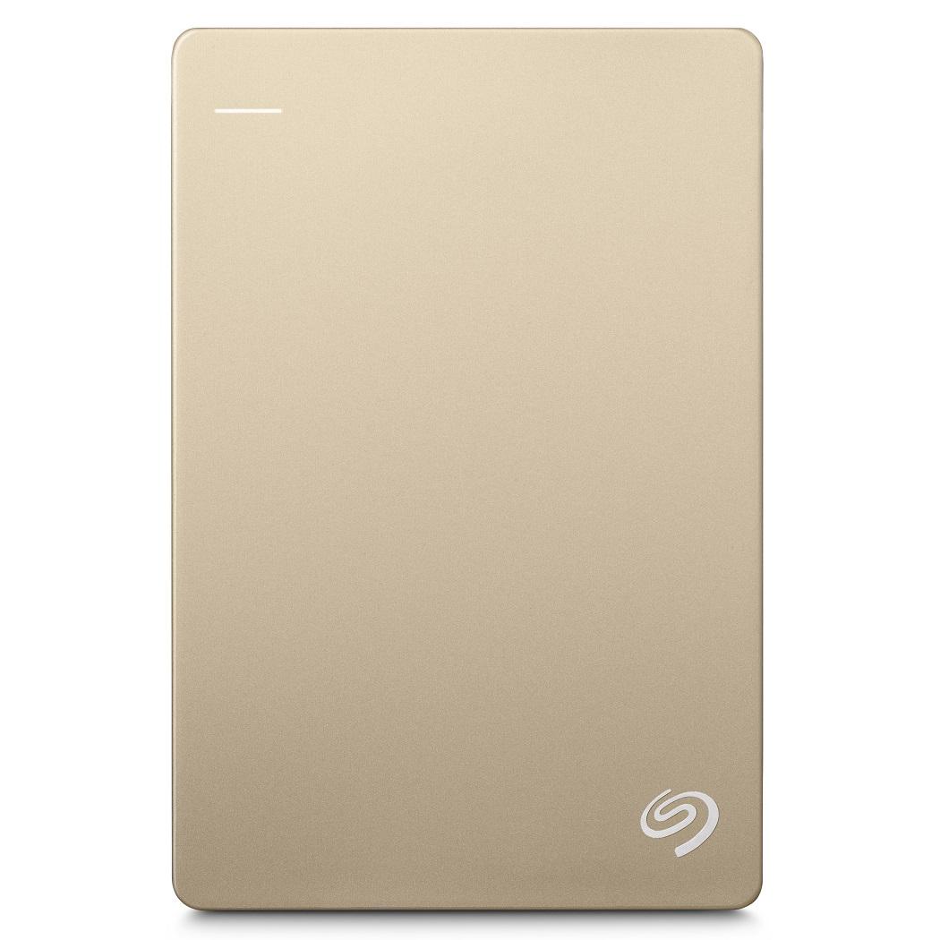Seagate Backup Plus Slim 2TB 2.5吋可攜式行動硬碟(金)
