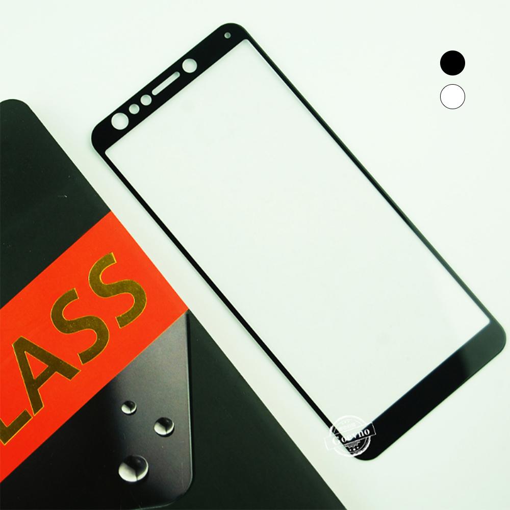 Goevno ASUS ZenFone 5Q ZC600KL 滿版玻璃貼(白色)