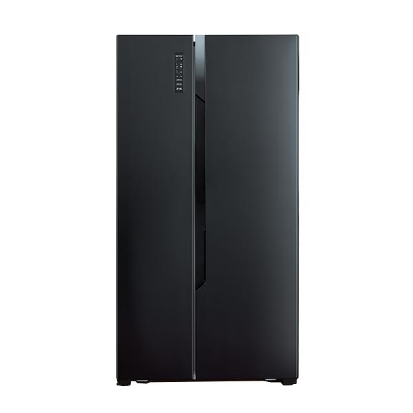 大同 540L變頻雙門對開冰箱(雅致黑)