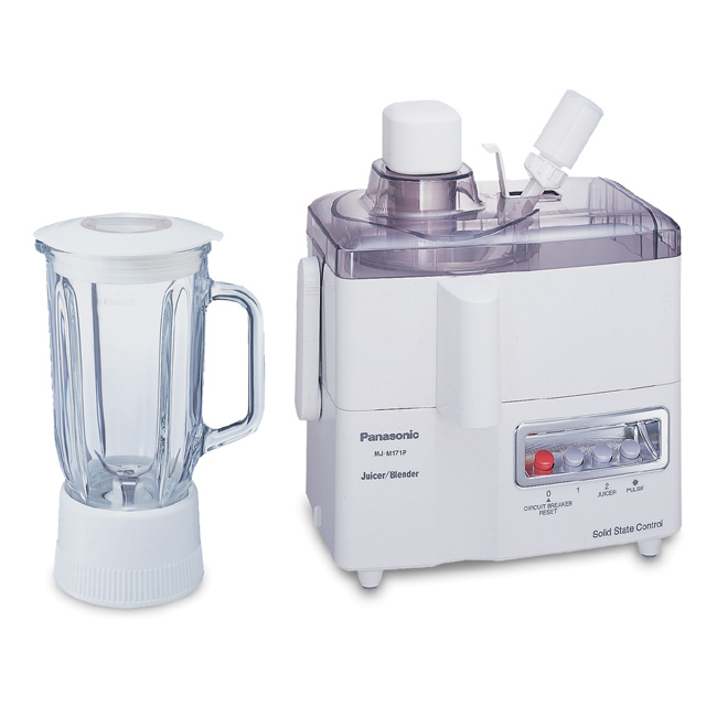 【Panasonic國際牌】二合一果菜榨汁機 MJ-M171P