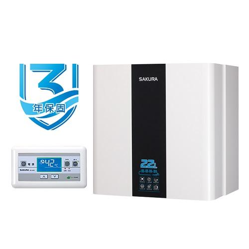 (全省安裝)櫻花22公升強制排氣(與SH2291FE/SH-2291FE同款)熱水器天然氣SH-2291FEN