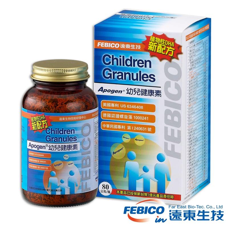 遠東生技 Apogen幼兒健康素(80g)3入
