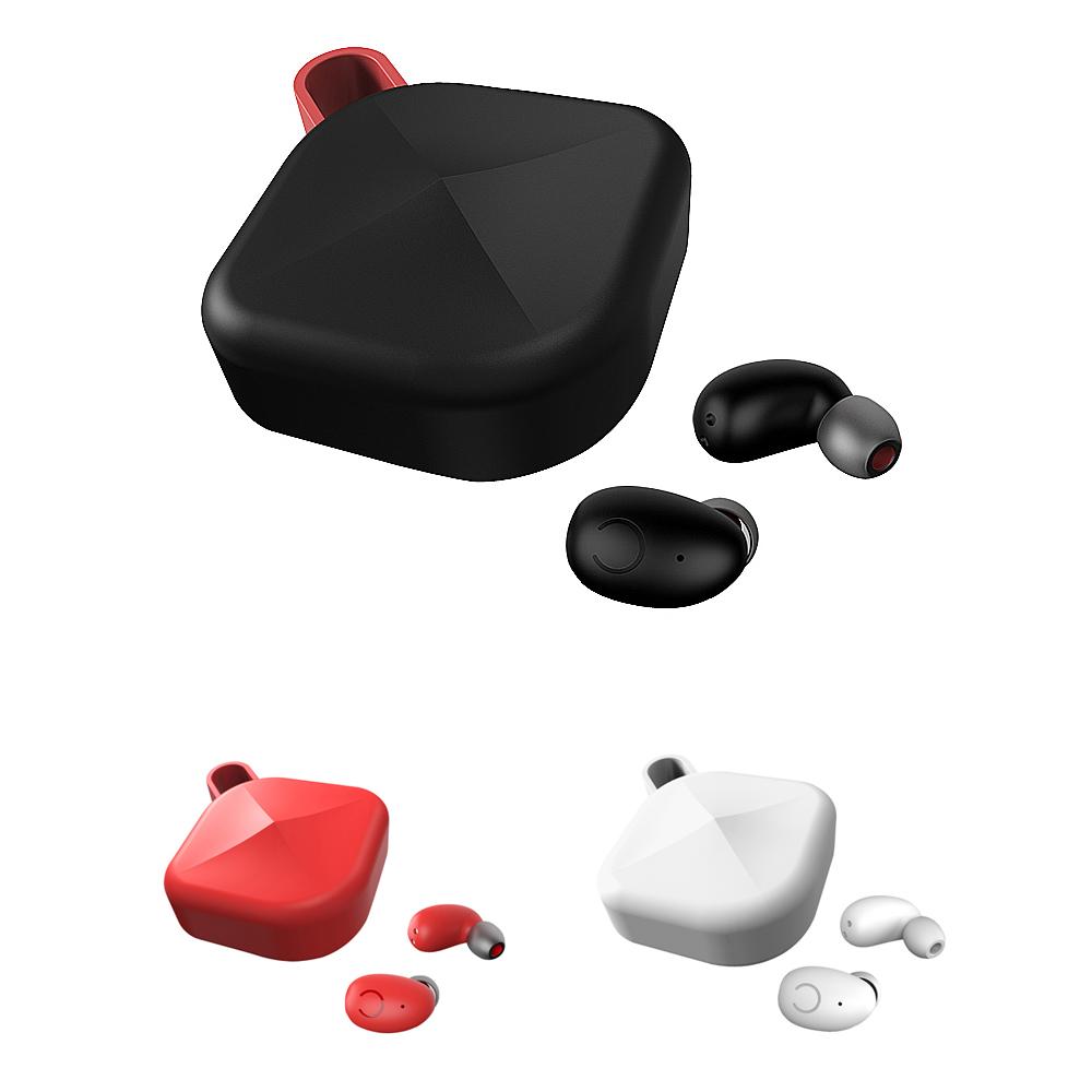 Mezone B6 TWS 重低音藍牙耳機(黑色)(買就送無線充電器,隨機出貨,送完為止)