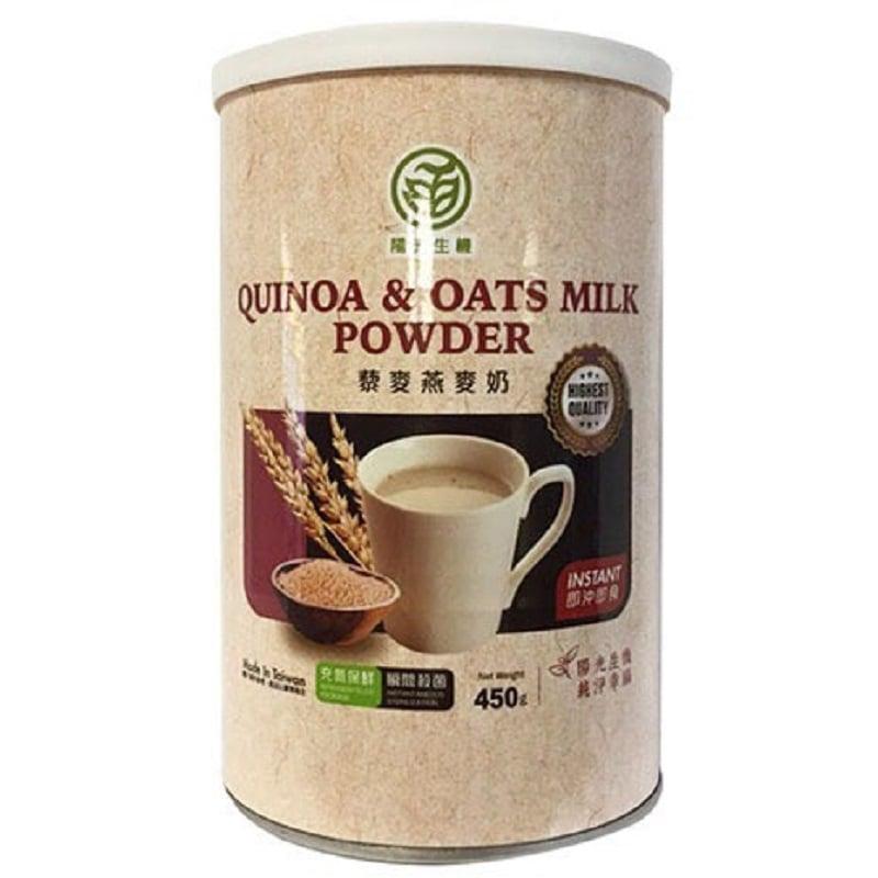 【陽光生機】藜麥燕麥植物奶(450g,共3罐)