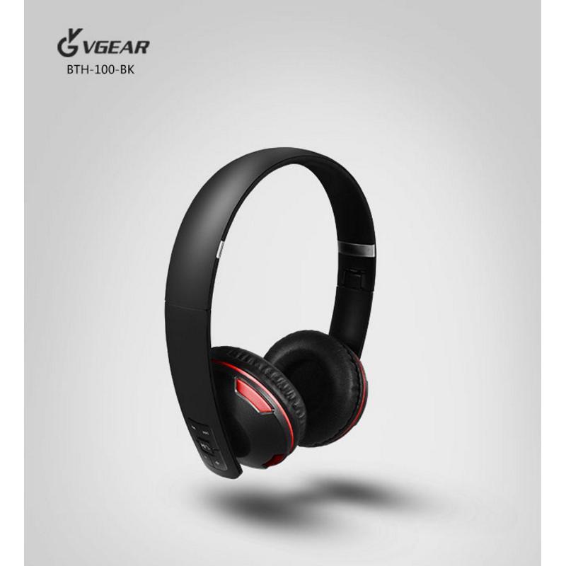 【尾牙1+1】藍芽耳機 Vgear BTH-100 耳罩折疊 + Apacer MicroSD 64GB