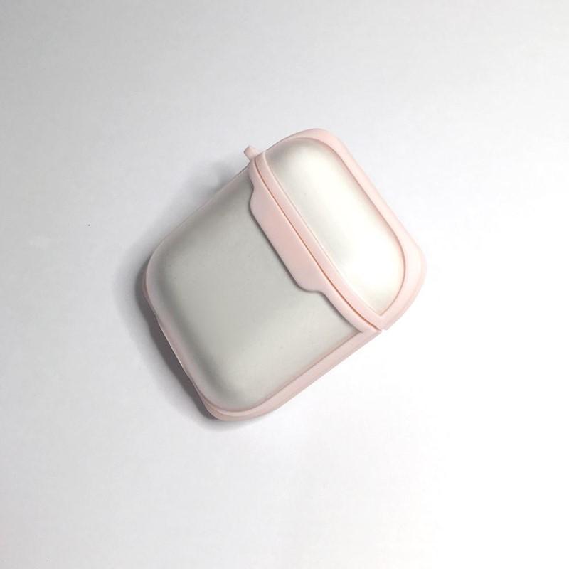 【WiWU】Eggshell AirPods 二合一保護套-粉紅色