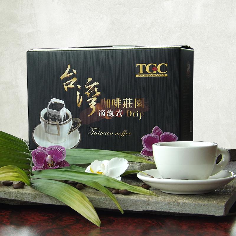 【TGC】台灣咖啡莊園掛耳式咖啡(12入)