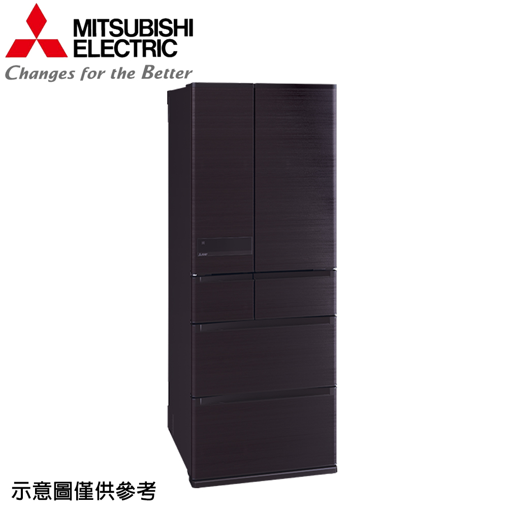 【MITSUBISHI 三菱】605公升日本原裝變頻六門冰箱MR-JX61C-RW