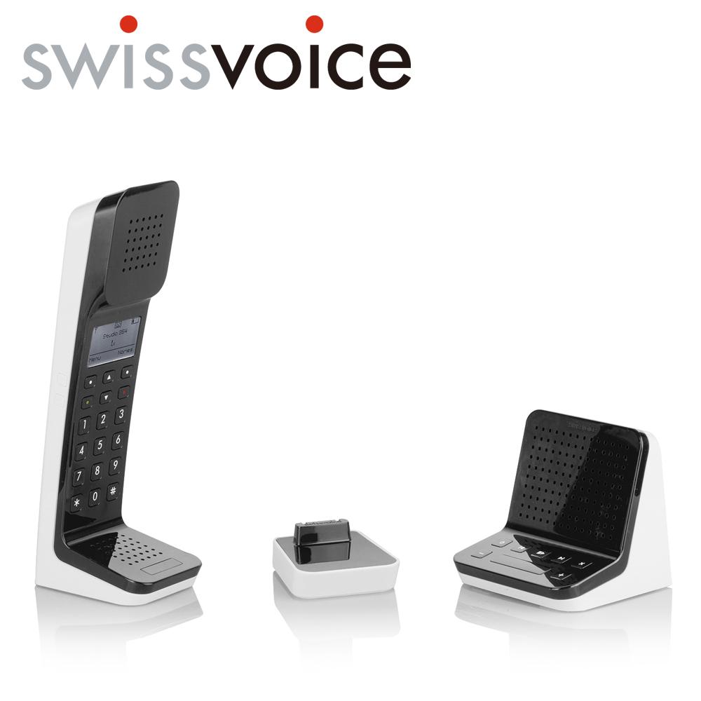 Swissvoice L7無線家用電話-經典黑