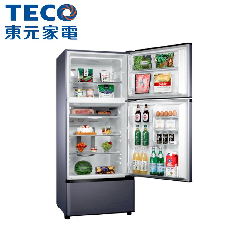 【TECO 東元】610公升變頻三門冰箱R6181VXHS