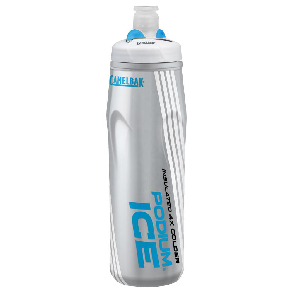 【美國 CAMELBAK】620ml 酷冰保冷噴射水瓶 沁藍