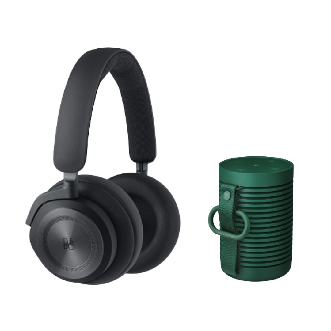 B&O兩件組 Beoplay HX 黑+Beosound Explore 綠(限時優惠預購)