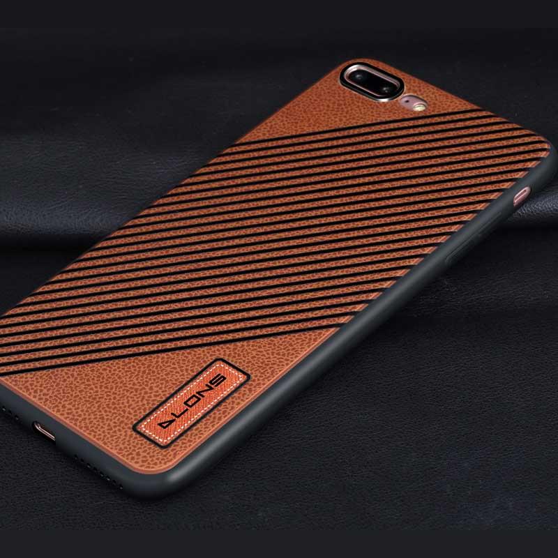 iPhone 7+ / 8+ DLONS 川系列手機保護殼 棕色