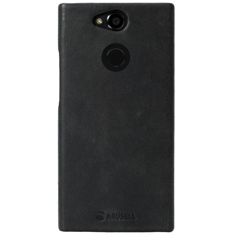 Krusell Sony Xperia XA2 Sunne 手機皮背蓋 黑