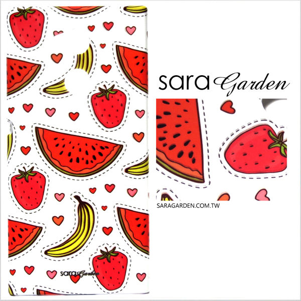 【Sara Garden】客製化 手機殼 SONY XA1plus xa1+ 保護殼 硬殼 可愛手繪水果