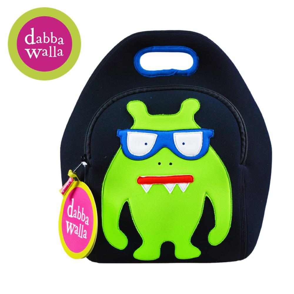 美國Dabbawalla瓦拉包 -怪獸兒童手提包
