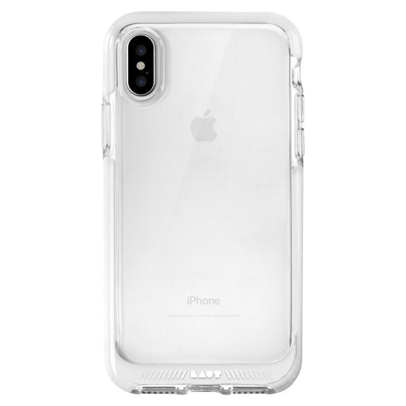 LAUT FLURO 美規防撞手機保護殼 iPhoneX/Xs 白