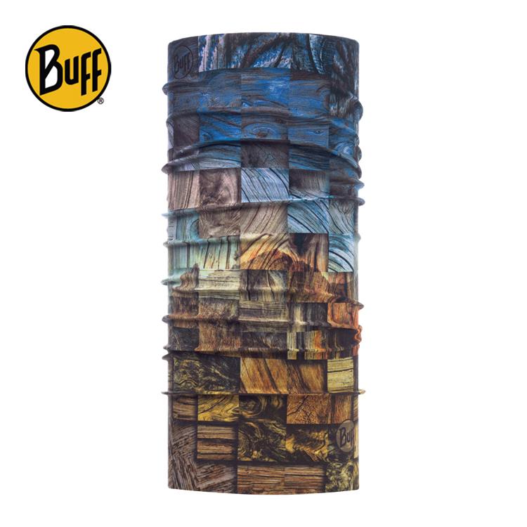 【西班牙 BUFF】木紋聲色 Coolmax抗UV頭巾