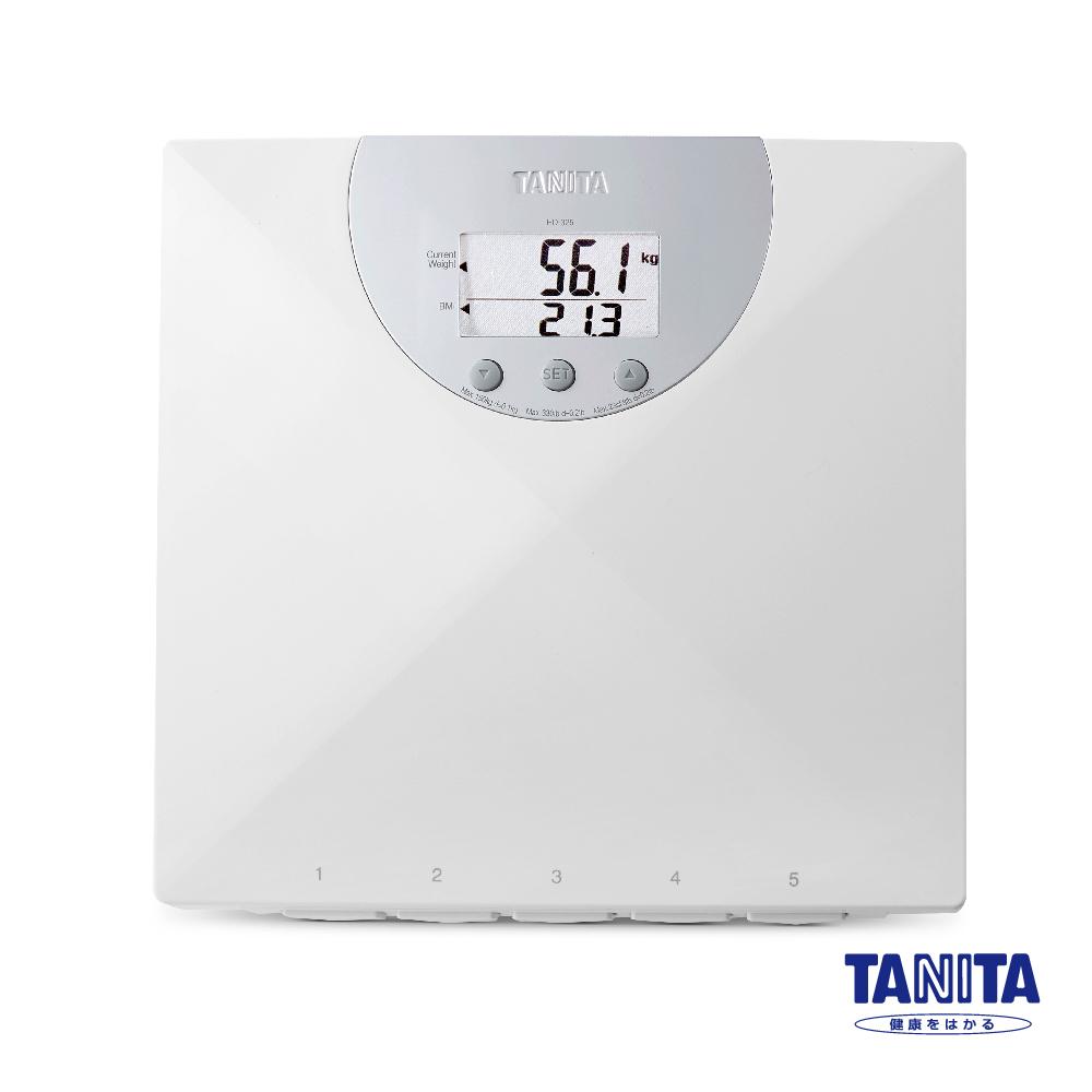 【日本TANITA 】身體質量指數BMI電子體重計HD-325