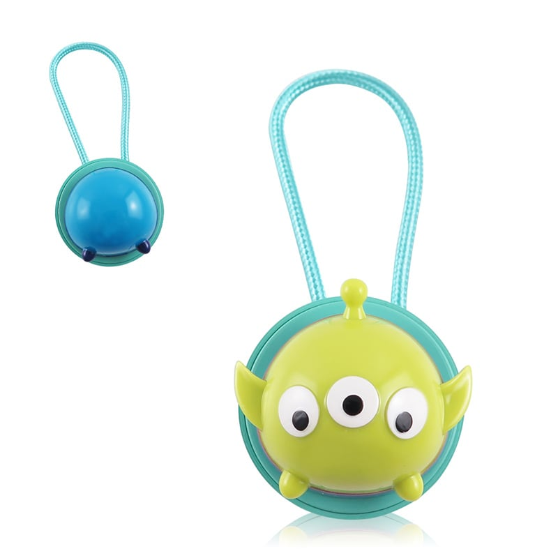 Disney迪士尼TsumTsum 三眼怪 公仔原廠認證Apple Lightning造型伸縮傳輸線