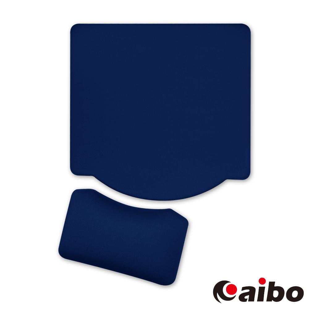 aibo MA-25 分離式矽膠護腕鼠墊 - 藍色