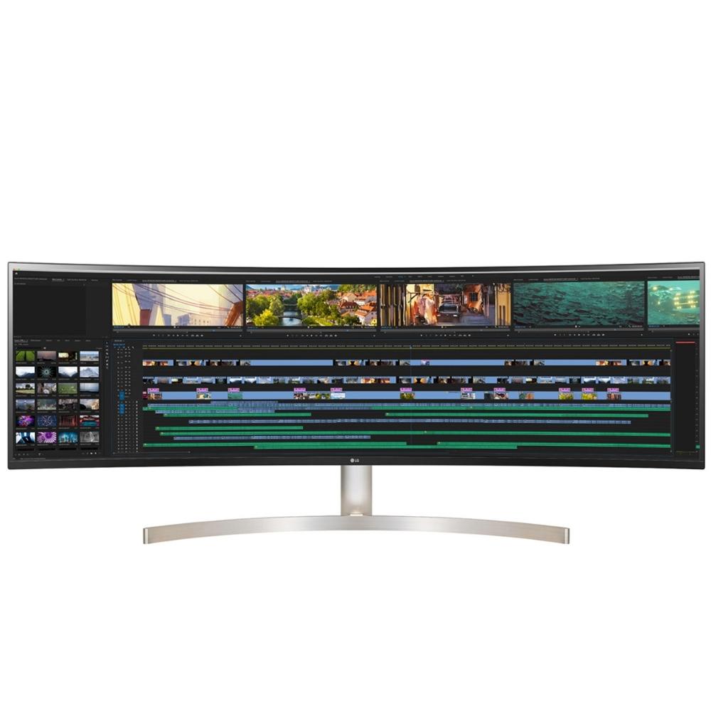 LG樂金49吋AH-IPS曲面32:9 HDR10液晶螢幕顯示器49WL95C-W