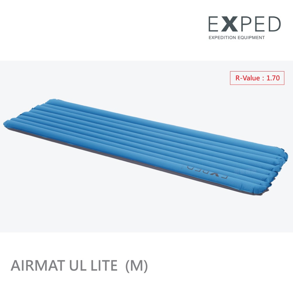 【瑞士EXPED】AirMat UL Lite 充氣睡墊-M