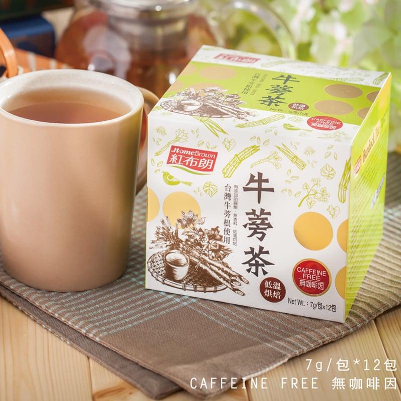 【紅布朗】牛蒡茶 (7g*12包/盒)X3盒