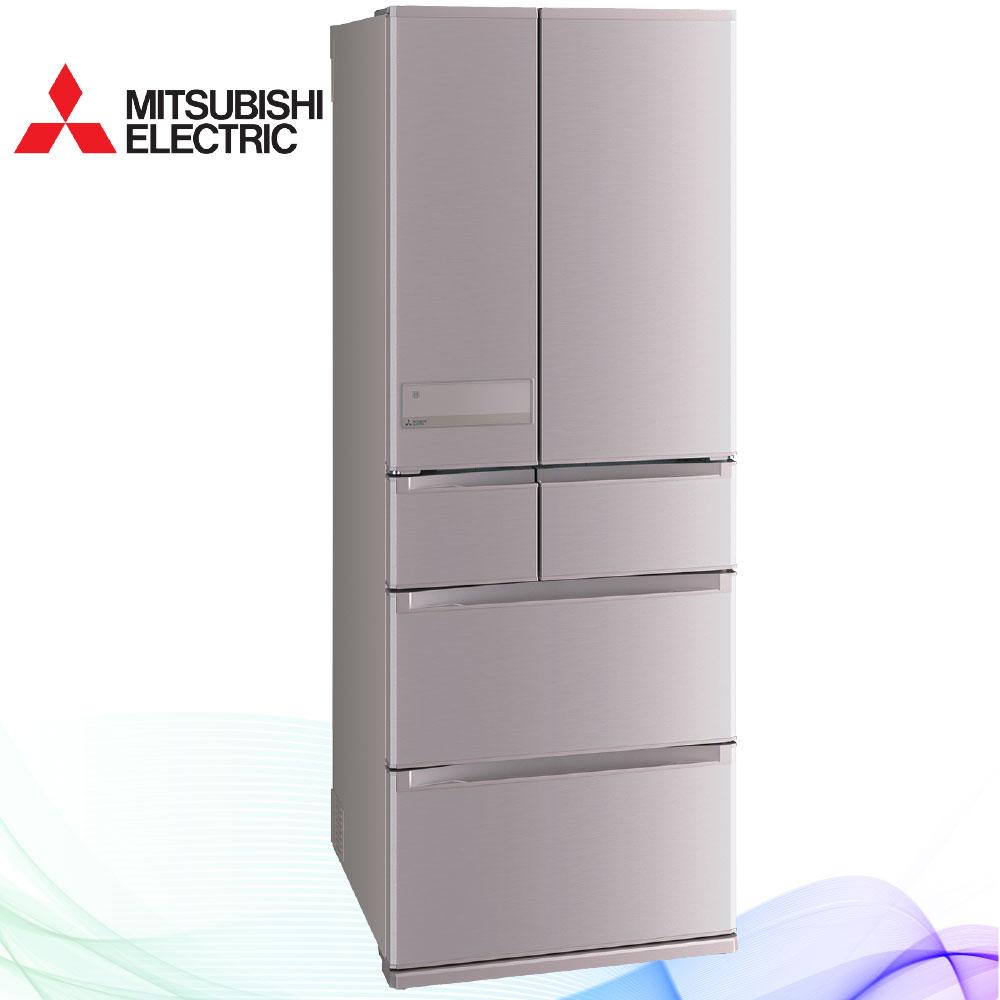 三菱605L日本原裝變頻六門電冰箱MR-JX61C玫瑰金(N)